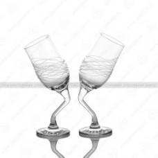 "Набор бокалов 2шт. ""Пьяные бокалы"" 200мл."
