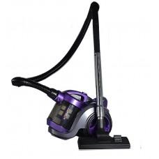 Пылесос HAEGER-8662 Фиолетовый.Мощность 2400Вт,мощность всасывания 420Вт.Объём 3л