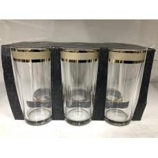 Набор стаканов для сока Кольцо 230 мл. (6шт.) ГН (6)