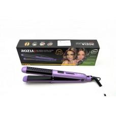 Щипцы для завивки и выпрямления волос 30Вт,подвижные пластины с керамич.покрытием