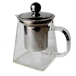 Чайник заварочный стеклянный.Объём 0,95л