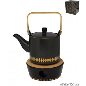 TEKITO Чайник на подставке п/у