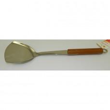 лопатка с деревянной ручкой 36см