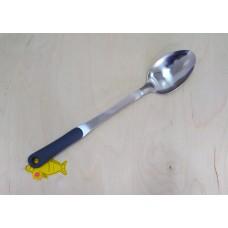 Ложка кухонная,с серой силиконовой ручкой 39 см Generous (3*12)