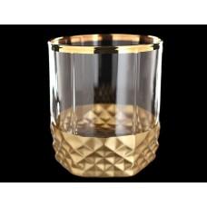 МТ+А1золото Вальс- набор 6 стаканов 330сс низ