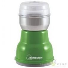 Кофемолка HOMESTAR,зеленый 160Вт,гарантия 6 мес.