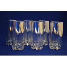Набор стаканов коктейль С812 Радуга Сильвана 385 мл.