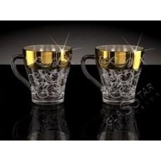 Набор чайный Грация К1649 (6 кружек с ручкой) Вдохновение ГН