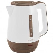 Чайник ENERGY E-235 белый,1,7 л. диск.Мощность 1850-2200Вт.Корпус из пластика