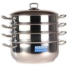 Arian Gastro Мантоварка d28см 3 секции мет/руч мет/кр / 4KTCLK0728001