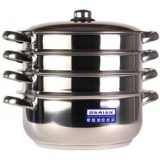 Arian Gastro Мантоварка d28см 3 секции мет/руч мет/кр / 4KTCLK0728002