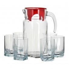 "Набор ""Луна"", кувшин+6 стаканов,4"