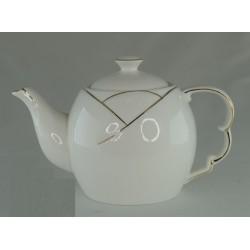 Чайник заварочный 1 л, керамика