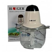 Измельчитель HAEGER HG-7007А (К№2) Мощность 700Вт.2 скорости.Ножи нержавеющая сталь