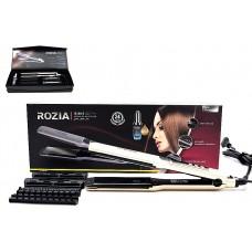 Щипцы для завивки и выпрямления волос НR-730.Мощность 55Вт.Керамика