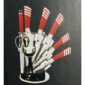 Набор ножей на подставке 9пр.