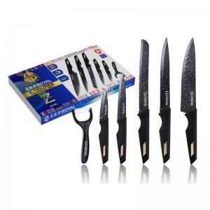 "Комплект ножей 6пр ""ZP"" (x10)"