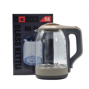 Чайник электрический 2л HAEGER HG-7839 Бежевый