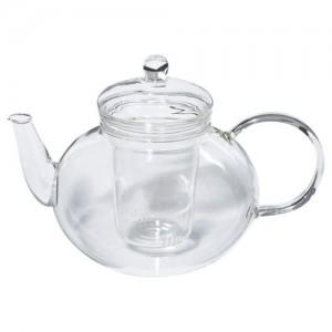 Чайник заварочный стеклянный.Объём 1л