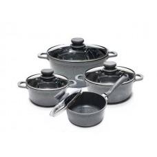 Набор посуды 8пр. EDENBERG (1,1л;2,2л;4л;1,2л)