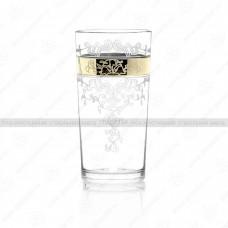 Набор стаканов для сока медальон 230 мл. (6шт.) ГН (6)
