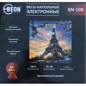 Весы напольные 28х28х0,6 см, max:180 кгBEON
