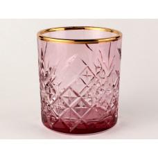 Розовый+А1 TIMELESS-Набор 4 стакана 345сс низ
