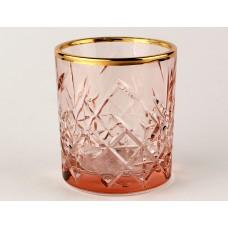 Персик+А1 TIMELESS-Набор 4 стакана 210сс низ