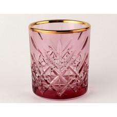 Розовый+А1 TIMELESS-Набор 4 стакана 210сс низ