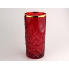 Бордо+А1 TIMELESS-Набор 4 стакана 295сс выс
