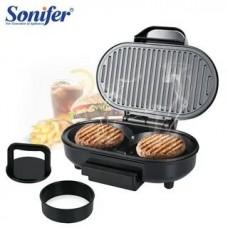 Электрогриль для гамбургеров Sonifer 750 Вт