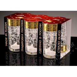 Набор стаканов для сока Вдохновение 230 мл. (6шт.) ГН (6)