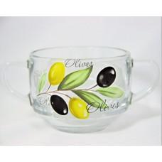 Оливки Кружка для супа с двумя ручками 635сс SL
