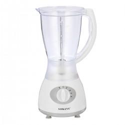 Блендер пласт. колба с чашей Sokany 500 Вт
