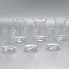 TEA GLASSES-Набор 6шт стаканов для чая 130cc