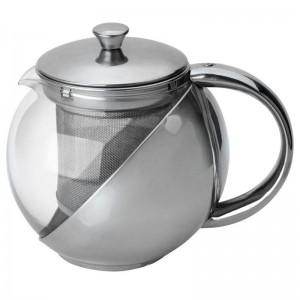 Чайник заварочный с сеточкой,500мл,нерж.сталь