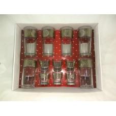 Набор 12 предметов стакан/стопка  Версаль (5)