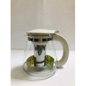 Чайник заварочный  cтекло и пластик 1800 мл
