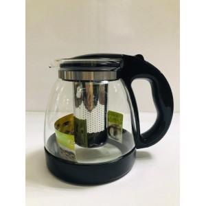 Чайник заварочный  cтекло и пластик 1500 мл