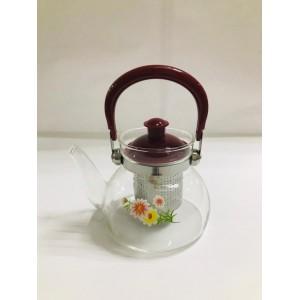 Чайник заварочный  cтекло и пластик 550 мл