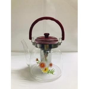 Чайник заварочный  cтекло и пластик 1400 мл