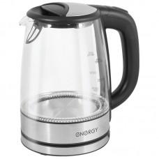 Чайник ENERGY E-237 1,7 л.Мощность 2200Вт.Корпус стекло/металл