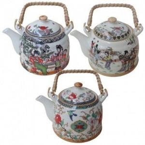 Заварочный чайник в японскои стиле Edenberg EB-3362 - 900мл, керамика