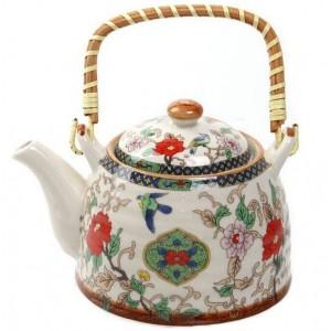 """Заварочный чайник """"Китайские узоры"""" Edenberg EB-3361 - 700мл, керамика"""