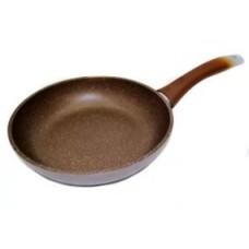 Сковорода 220х60мм с ручк.,АП(кофейный мрам.)