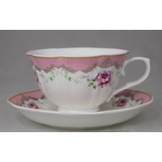Чайный набор 12пр на 6 персон, фарфор., под. упак. pp-528