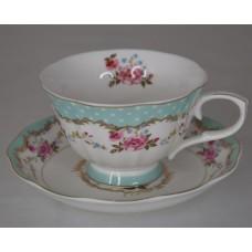 Чайный сервиз 12пр 220мл на 6 перс., керамика