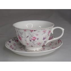 Чайный сервиз 12 пр на 6 персон 220 мл фарфор pp-13