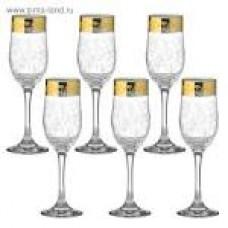 Набор бокалов для шампанского 2 Вдохновение 200 мл. открытая коробка ГН (4)