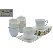 Набор чайный 12пр.Версаче.В наборе 6 кружек,6 тарелок